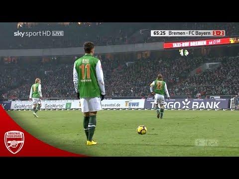 19 Year Old Mesut Özil vs Bayern München