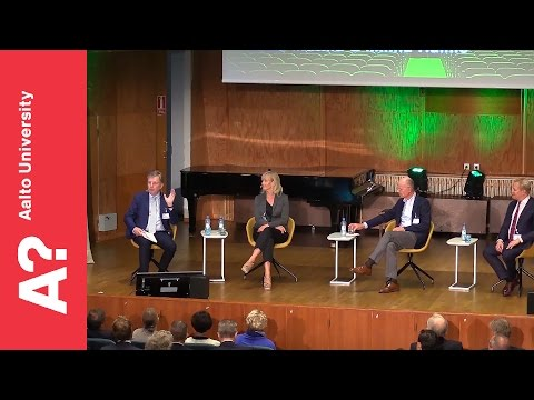 """Business and Society in 2020"" - Panel discussion 26.8.2016 Homecoming Day"