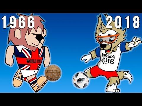 Las Mascotas Mundialistas/Copa del Mundo