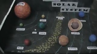 Our Solar System - 3-D Model - School Project