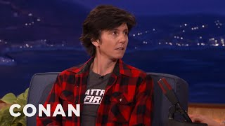 "Tig Notaro Isn't Sure Why ""Assh***"" Is Bleeped  - CONAN on TBS"