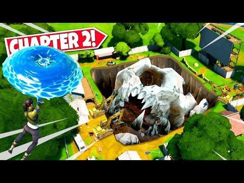 *NEW* UNCOVERING CHAPTER 2 SECRET *MONSTER SKULL* EASTER EGG IN CHAPTER 2! (Battle Royale)