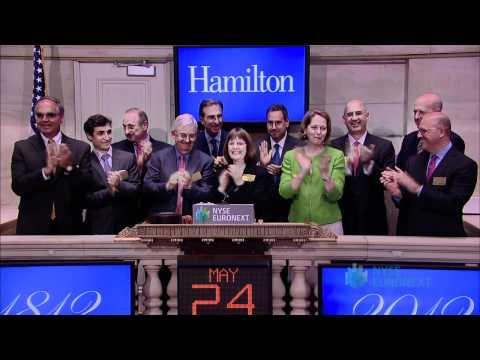 Hamilton College Visits the NYSE