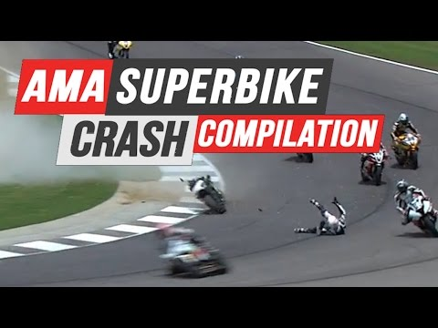 AMA Superbike Crash Compilation