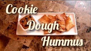 Healthy Cookie Dough Hummus • Joe's Light Bites