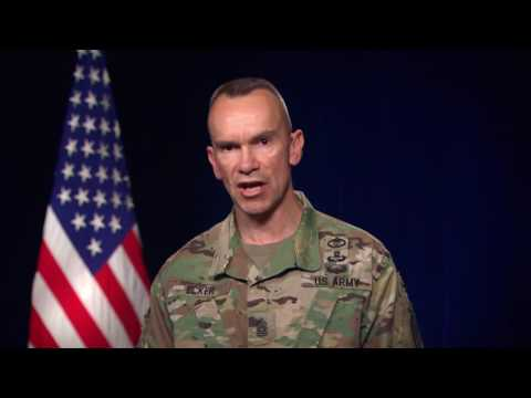 CSM Ecker Message to the Chaplain Corps