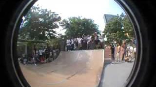 2009 vans hk go skate boarding day