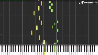 Градусы - Режиссер Piano Tutorial  (Synthesia + Sheets + MIDI)