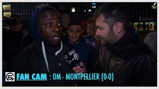 OM - Montpellier (0-0) : Payet, Sanson, Sarr, ... Papah Elie, très énervé, n'épargne aucun joueur