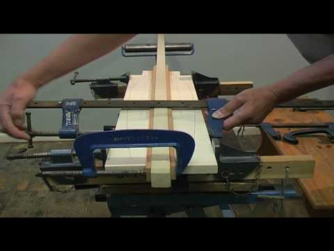 How to make a canoe paddle: mooseheadcanoes.co.uk - YouTube
