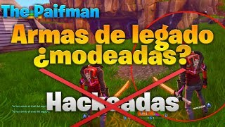 How to HAVE LEGACY WEAPONS[DOUBLE ELEMENT](Fortnite Save the World)Don't Be Fooled😒 THE PAIFMAN