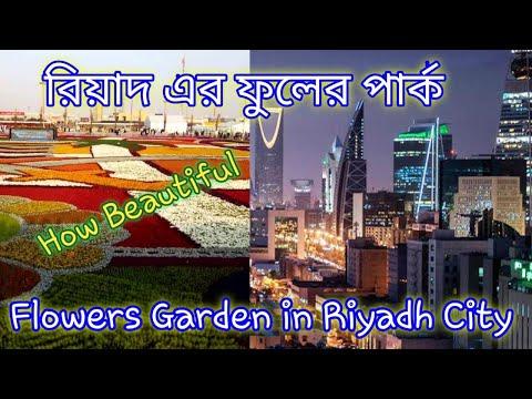 Flowers Garden। Riyadh City। Saudi Arabia