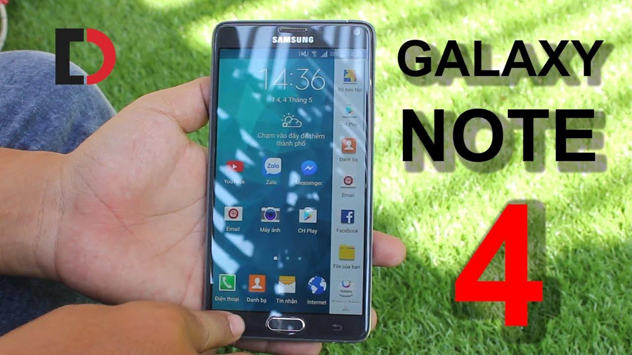 Đánh giá Samsung Galaxy Note 4 Hàn Quốc N910L/S/K - Vẫn rất đáng mua