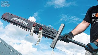 Huge Worker Chain Sword How to make From Warhammer 40k DIY