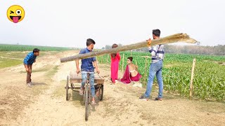 Must Watch Funny Comedy Video 2021 Try To Not Laugh Non-Stop Video || By Bindas Fun Masti