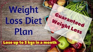 Free Diet Plan To Lose Weight | Best Diet To Lose Weight | Nainja Kapoor