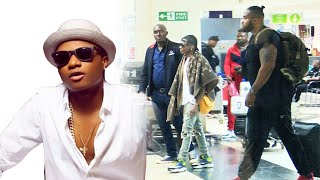 Wizkid arrives in Uganda for his Dirty December concert