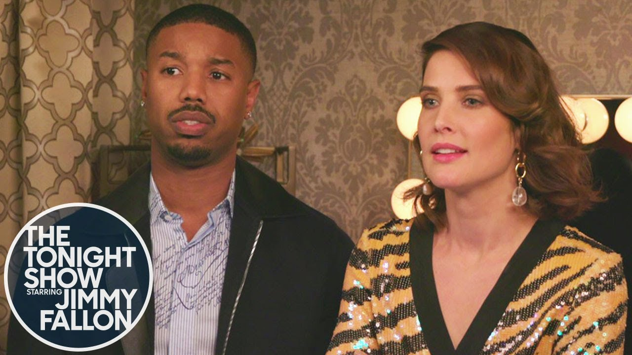 Michael B. Jordan and Cobie Smulders Text Thanos