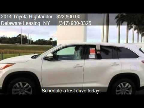2014 Toyota Highlander LE for sale in , NY 11234 at Delaware
