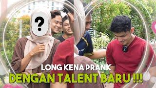 Sulong Kena Prank Dengan Talent Baru Alieff !!! Malu Malu Pulak Dia...