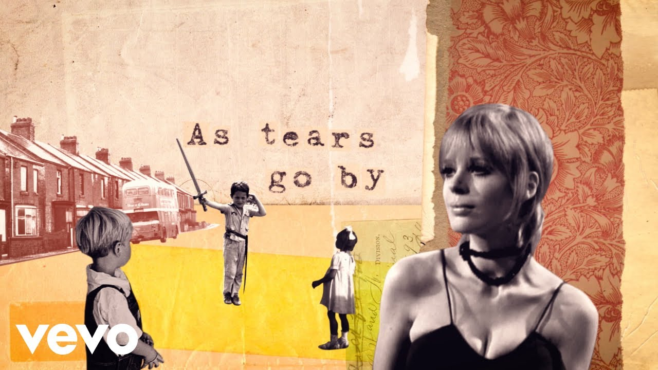 "Hear Marianne Faithfull's Three Versions of ""As Tears Go By,"" Each Recorded at a Different Stage of Life (1965, 1987 & 2018)"