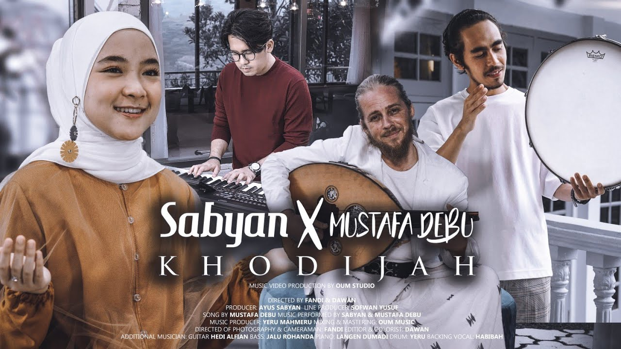 SABYAN ft MUSTAFA DEBU - KHODIJAH (OFFICIAL MUSIC VIDEO) #1