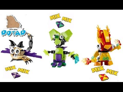 Миксели Мультфильм Игра Какой Микс Лучше Lego Mixels Game Игры для Мальчиков