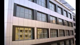 видео Облицовка многоэтажных зданий.