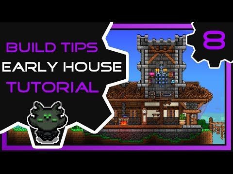 Fancy Early Game House | Terraria Build Tips