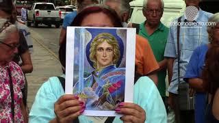 Procesión en honor a San Miguel Arcángel