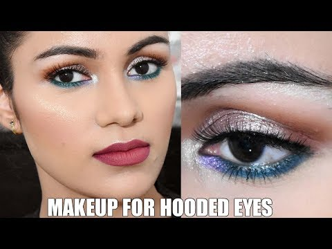 Makeup For HOODED EYES In HINDI |Tips & Tricks