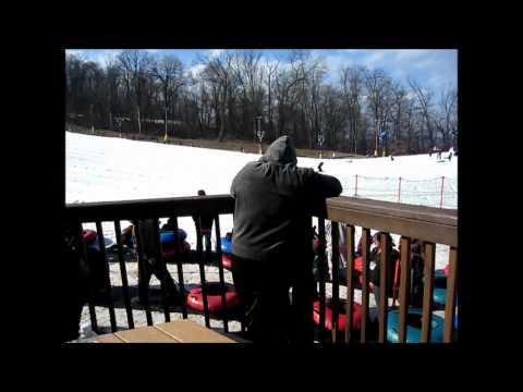 Snow Tubing at Boulder Ridge, Liberty Mountain Resort, Carroll Valley, PA.