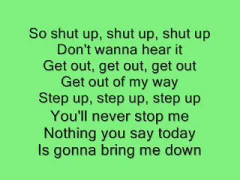 Shut Up  Simple Plan Lyrics