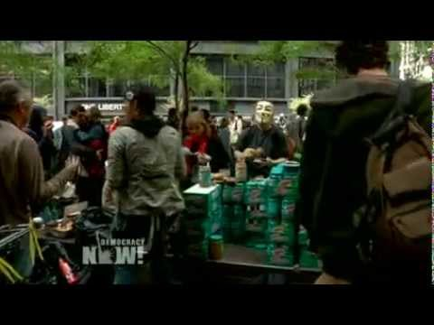 Occupy Wall Street Activists Swarm NY Financial District to Mark Anniversary of 99% Struggle