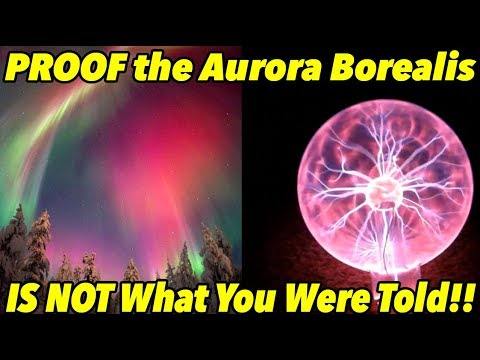 PROOF The Aurora Borealis IS NOT What Your Were Told!! | #FlatEarthProofs 4