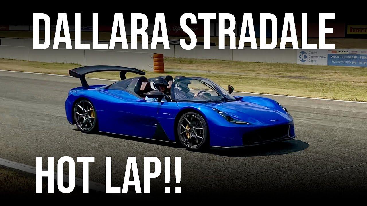 Testing the Dallara Stradale: Onboard at Autodromo Varano!!!!