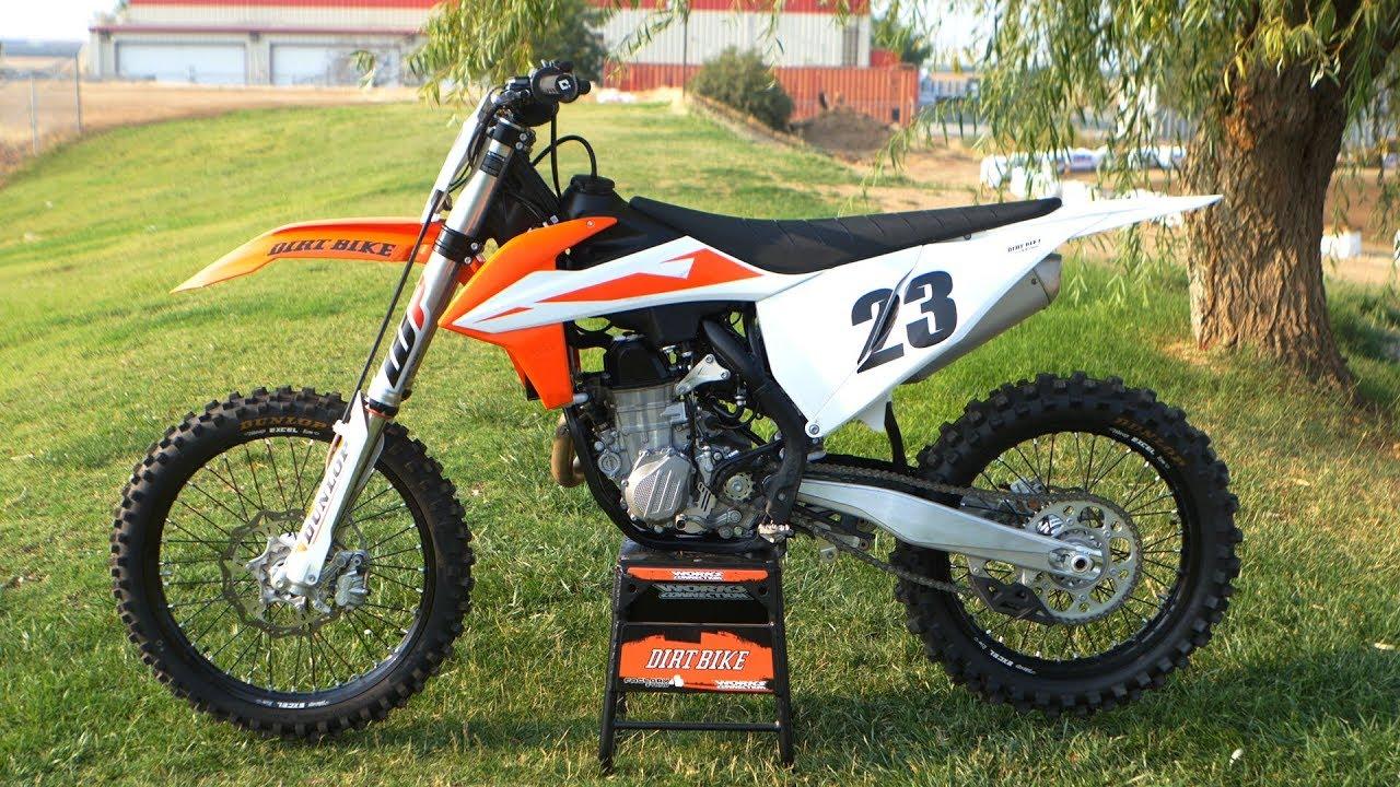 2019 Ktm 450sxf Dirt Bike Magazine Youtube