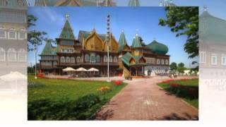 Загородный дворец царя Алексея Михайловича в Коломенском