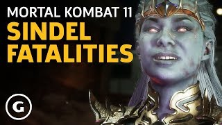 Mortal Kombat 11 - Sindel Fatalities, Brutality, Fatal Blow Gameplay