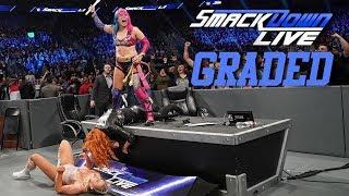WWE SmackDown Live: GRADED (11 December) | TLC 2018 Go Home Show & Mustafa Ali Debut