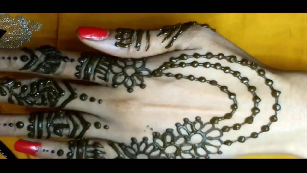 Mehndi Hand With Eye : Diy beautiful and simple henna mehndi hand jewellery design