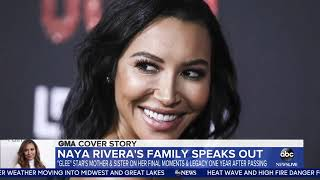 Naya Rivera's mother opens up about the day she learned her late daughter went missing
