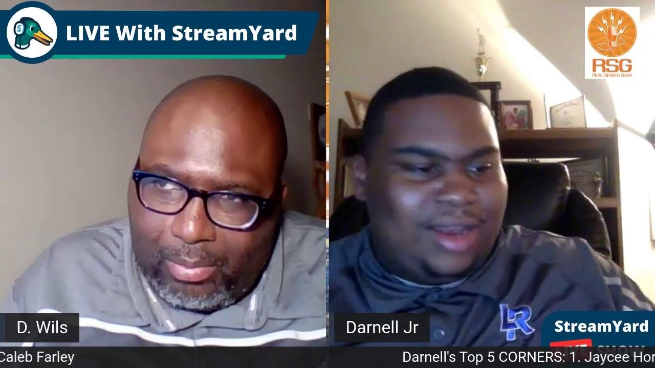 Darnell's Top 5 List! 2021 NFL Draft