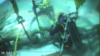 another day at work... COMMERCIAL DIVING...not for all...