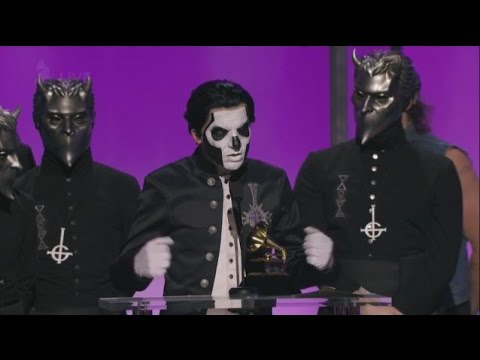 Ghost Wins Hard Rock/Metal Grammy But Won't Be On the Main Show