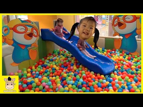 Thumbnail: Indoor Playground Fun for Kids and Family Play Slide Rainbow Colors Ball | MariAndKids Toys