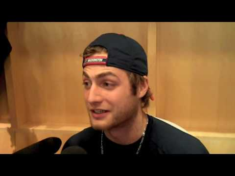 2889e9307a8 Braden Holtby Interview in Caps  Locker Room. Capitals Outsider