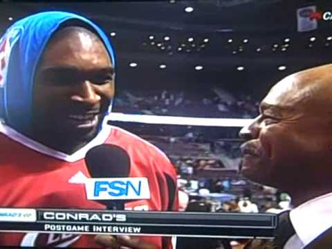 Joe Smith interview after the Detroit game 3 first round.