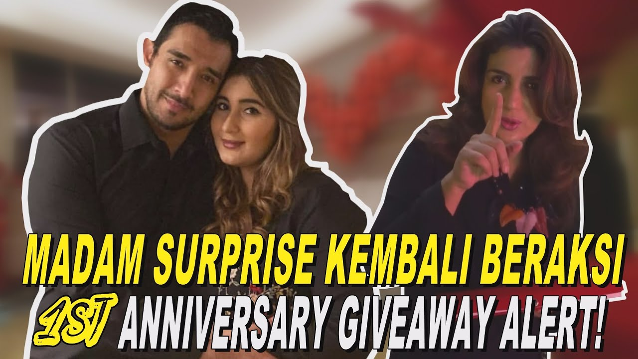 MADAM SURPRISE KEMBALI BERAKSI, 1st ANNIVERSARY | GIVEAWAY ALERT!