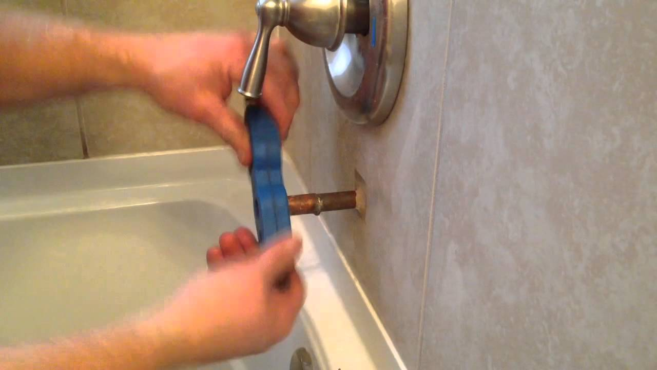 with chrome slip spout moen in tub diverter connection fit p